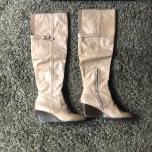 Nicole knee high boots